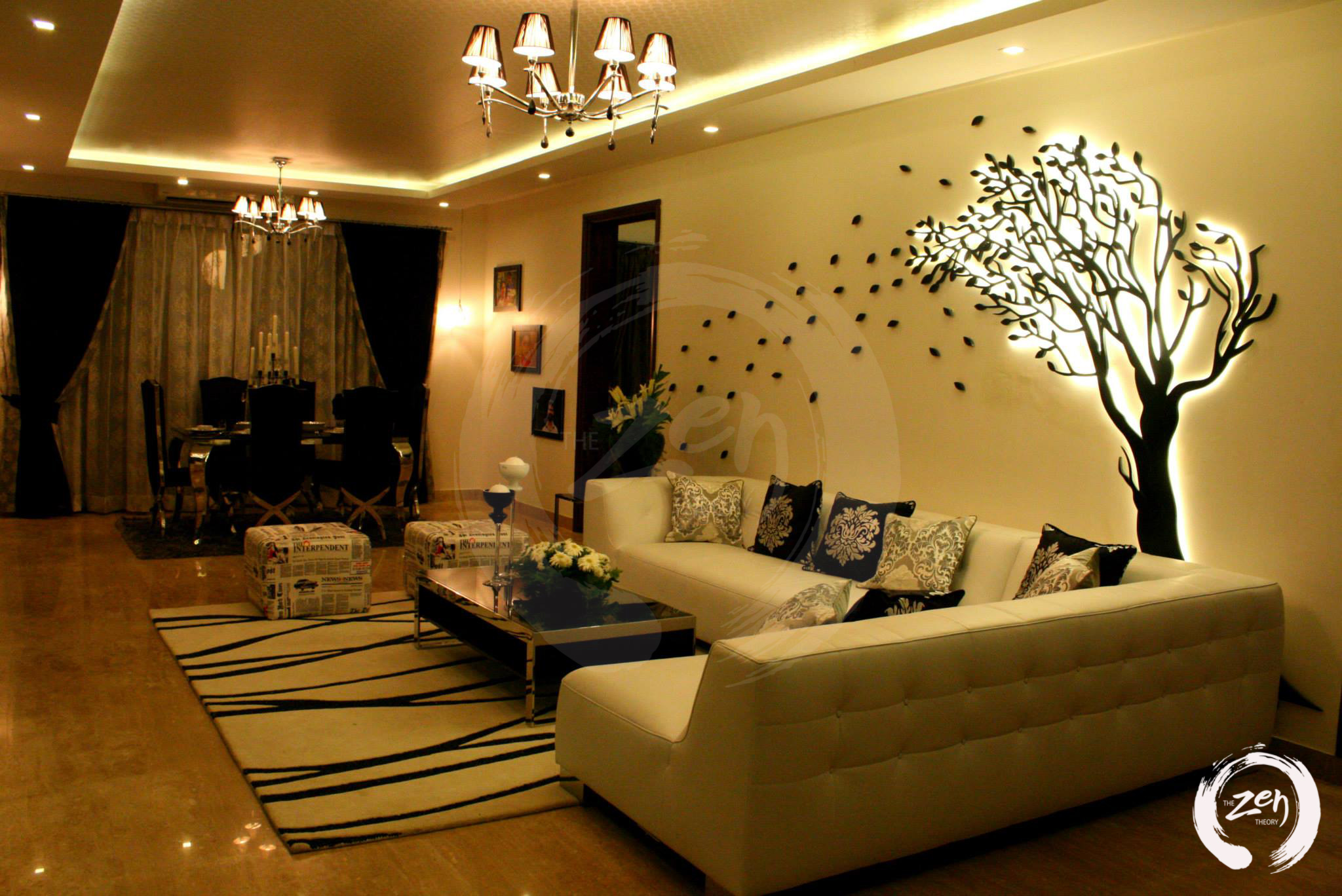 Interior Design 4bhk Apartment In Legacy Apartmentbangalore Holanta